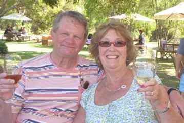 Alan and Pam