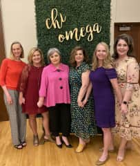 Pledge sisters from the 80s. I believe friends and family are everything.