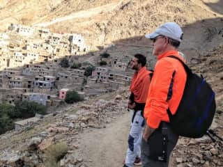 Hiking in the Atlas Mountains in Morocco
