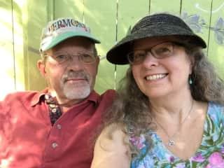 Ken and Cara visiting in Ojai CA