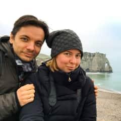 Hey, that's us - Olga & Sergey