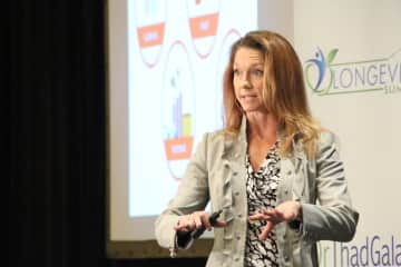 I have a ton of training. Here I am giving a talk on Toxic Burden. The video is on YouTube under amyrxbaker