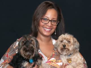 Me and my babies. RIP Chauncey Boo (2005-2020). Mommy loves you!