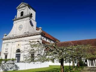 Mariastein Kloster (15min walk)