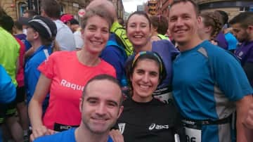 Running 10k for charity with friends