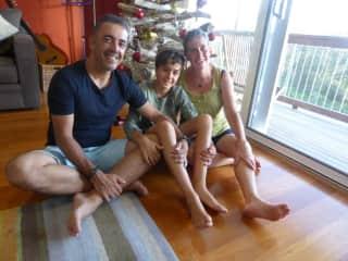 Lynn, Carlos and Owen