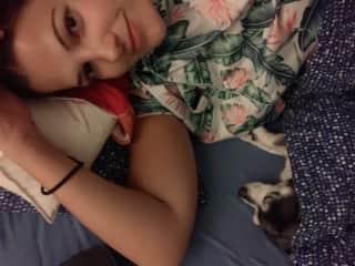 Mu cuddle buddy in Switzerland