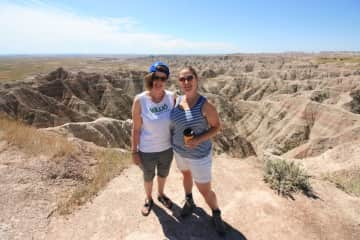 Road-tripping to the Badlands was amazing!