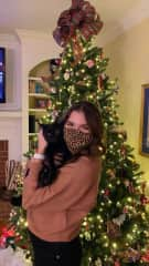 My cat Darcy and me!