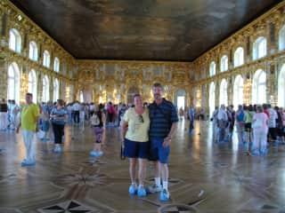 Rick & Teresa in St. Petersburg, Russia