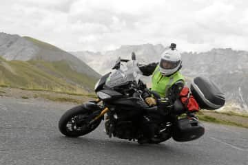 Moto touring in the Alps