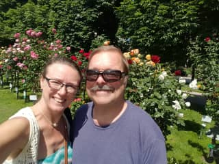 We love touring gardens as well as caring for yours