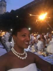 Diner en Blanc in Washington,  DC  this year, was fabulous!