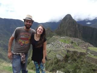 Perú - Machu Picchu, our first long trip.