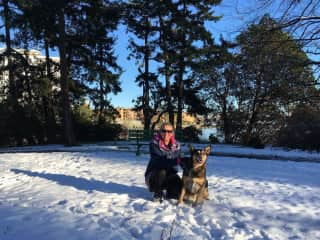 Second House/Dog Sit with Sweet Hailey (Victoria, Vancouver Island)