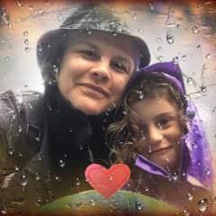My daughter Kalypso and myself.