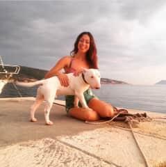 Alina & BullTerrier in Croatia!