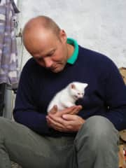 Tom's arrival - October 2007