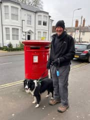 Mark and Jazzie in the UK - December 2019