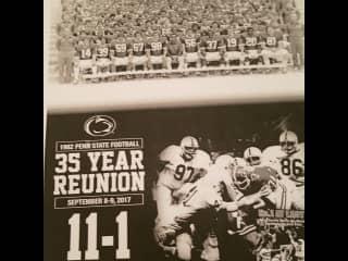 Captain of Penn State 1982 national Football team.