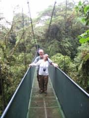 Monique & Blane in Costa Rica