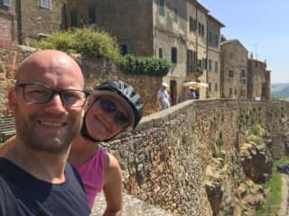 Exploring Tuscany by bike ... well partly. ;)