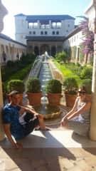fede and Marie in Granada
