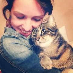 Marjolein & cat Jack