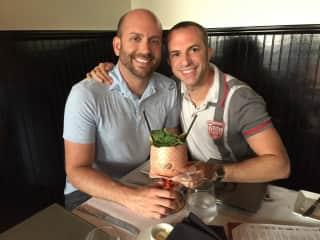 My husband Matthew and myself (Mike)