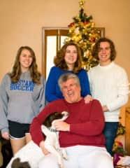 Daughter Rachel, Lynn, son Zac and Doug