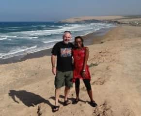 Greg and Naomi