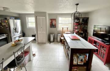 Feel free to use any of my appliances - Keurig, Instapot, KitchenAid mixer, Vitamix.  The island is a great extra space for food prep!