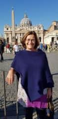 Heather enjoying Rome