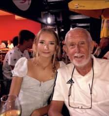 Me with my Grandad