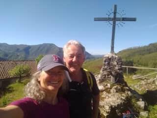 Hiking in the Garfagnana - Italy.