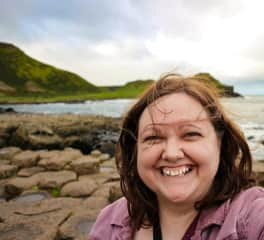 Visiting Giant's Causeway in Northern Ireland