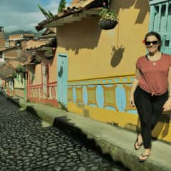 Me in Colombia!