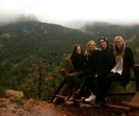 Hiking in Colorado with my friends!