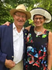 Wim and Marianne Wolffers 40 years married