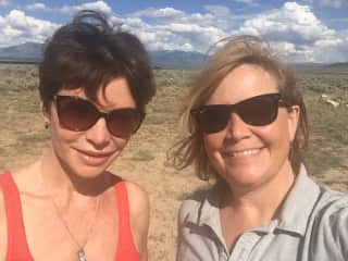 Taos, New Mexico, with friends.