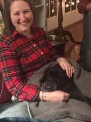 Enjoying Christmas with Wallace