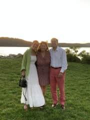 My Family: Julia (daughter) - Bernice - Mark husband)