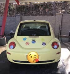 My Daisy. I love anything to do with Volkswagen beetles.