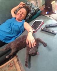 Me and my cat Felix