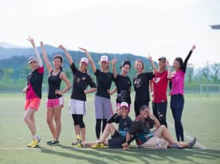 I have played ultimate for almost 20 years. While living  in Korea, I launched the first women's national competition.