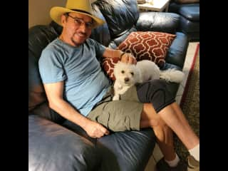 -- Couch Chillin' with Cassie -- an instant bond that made her owner very surprised