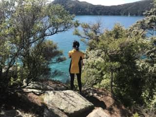 Hiking in Abel Tasman