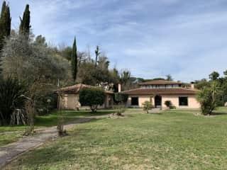 House seen from garden