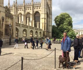 Visit to Cambridge with Charly and Ollie