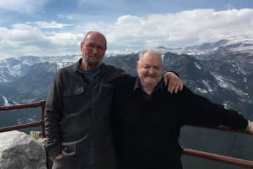 Traveling in Rockies with my uncle